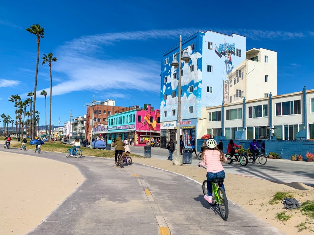 Venice Beach has beautiful murals
