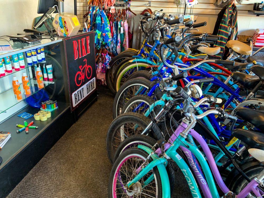 Santa Monica bike rentals