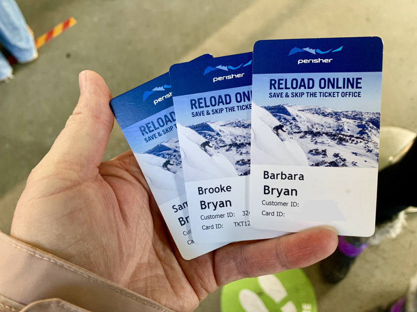 Both Thredbo & Perisher ski lift passes can be reused & reloaded online