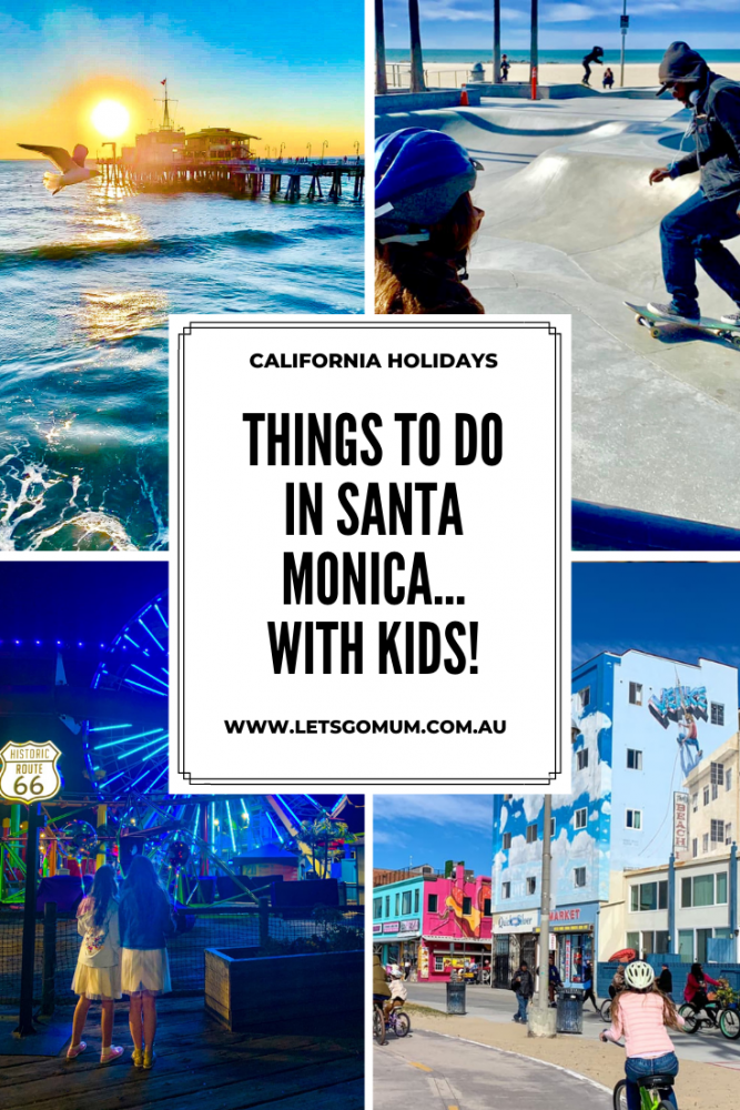 Things to do in Santa Monica with kids