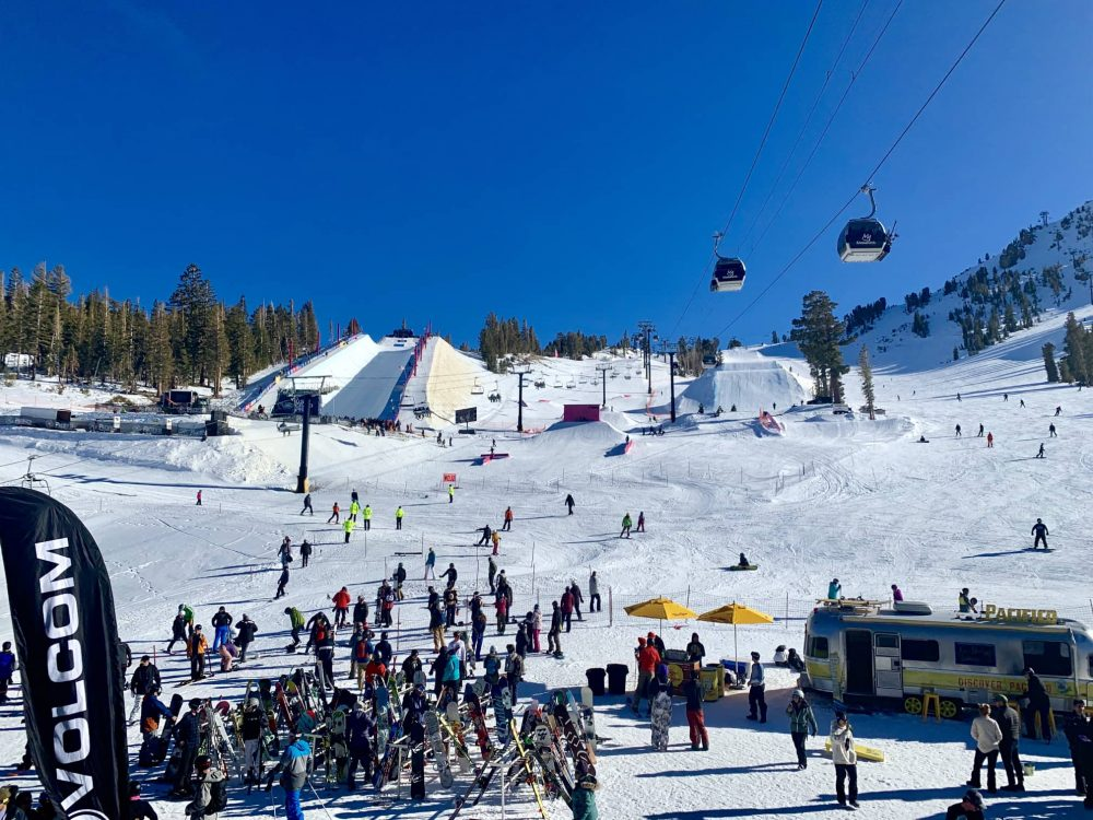 Mammoth Mountain Ski Resort is just one hour's flight from Disneyland