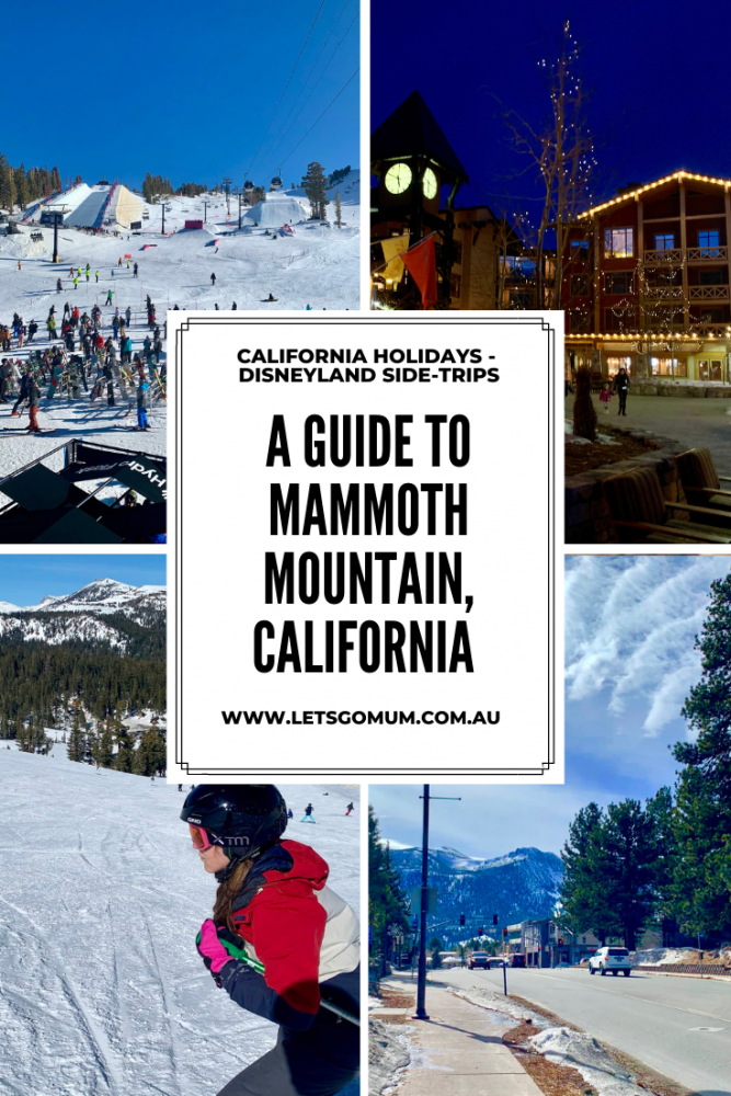 A guide to Mammoth Mountain, California
