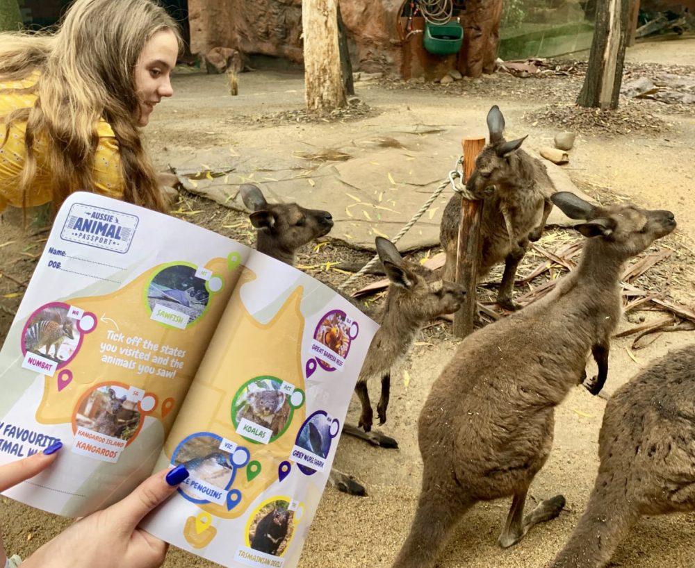 Sydney WILD LIFE Zoo Aussie Animal Passport