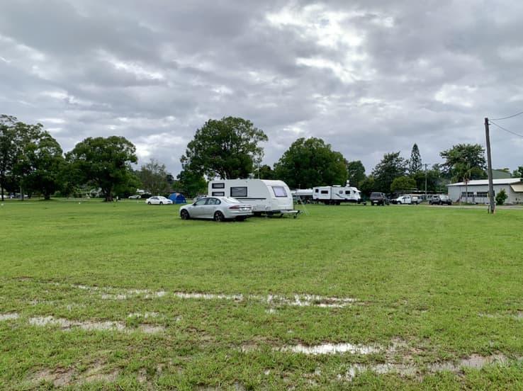 Mullumbimby Showground camping
