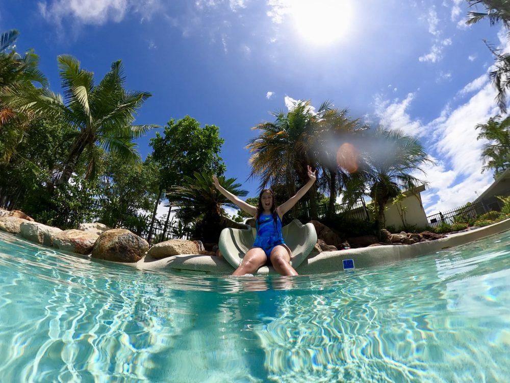 Treasure Island swimming pools