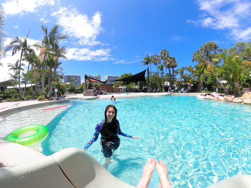 NRMA Treasure Island resort swimming pool