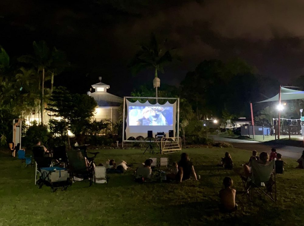 Movies Under The Stars at Treasure Island