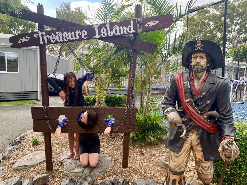 NRMA Treasure Island Holiday Resort pirate theme is lots of fun