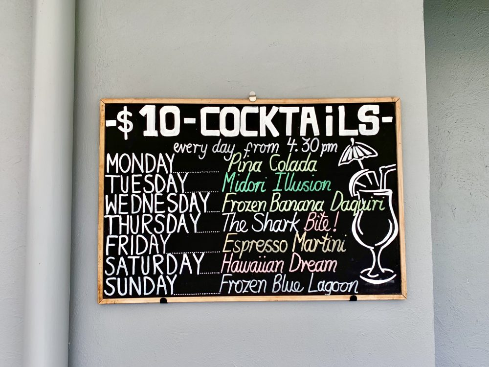 Cocktail time! Try some fun holiday specials