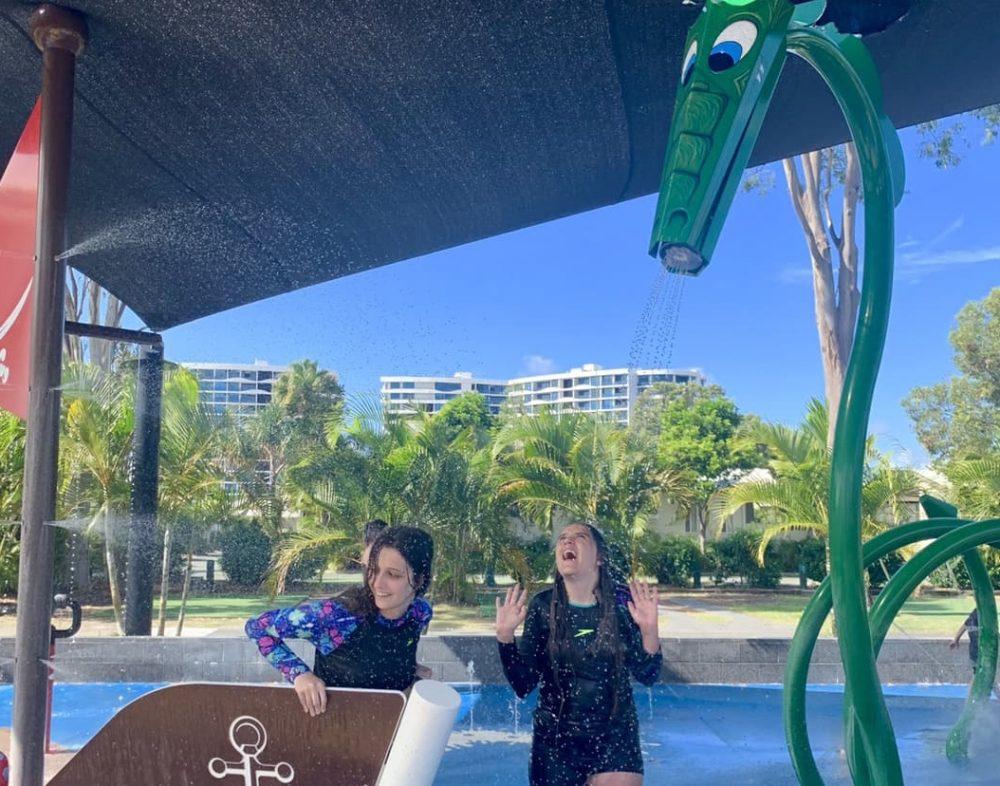 Get wet at Treasure Island holiday park