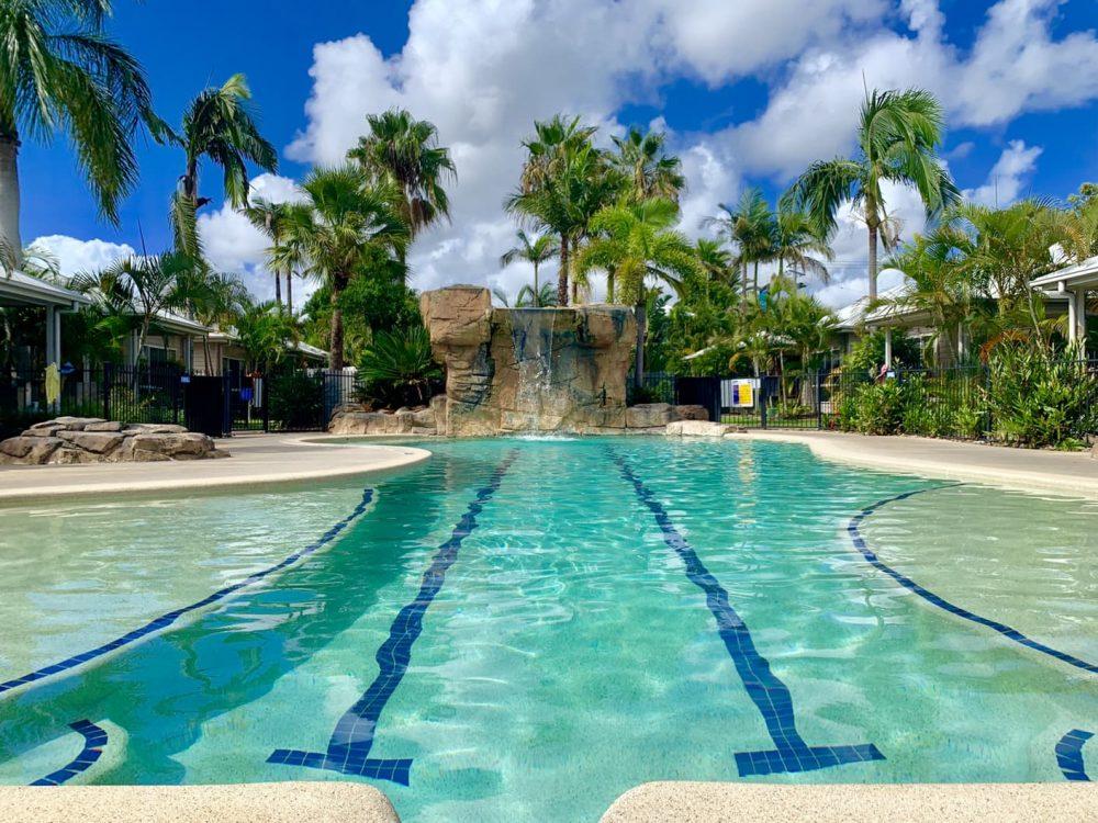 The Treasure Island Lagoon Pool