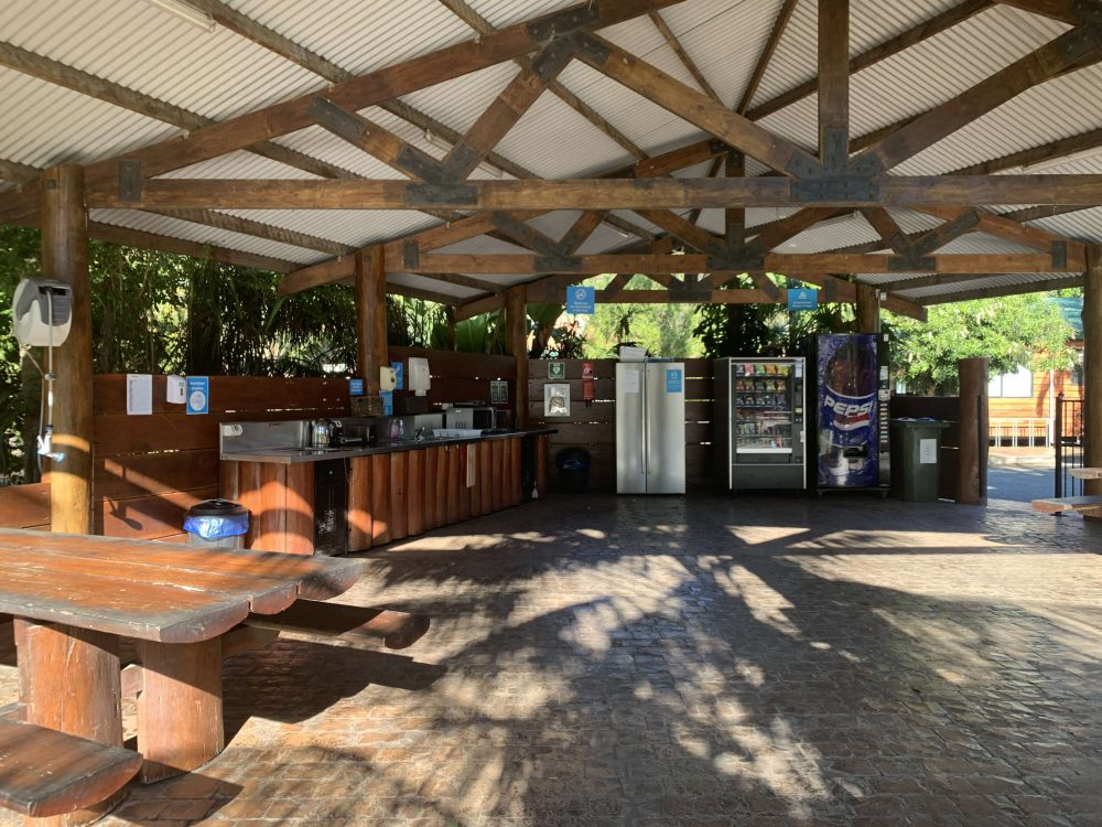 There are Camp Kitchens dotted around the holiday park