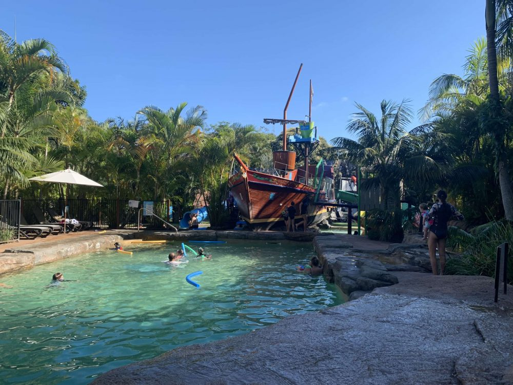 South West Rocks holiday park Shipwreck Island waterpark