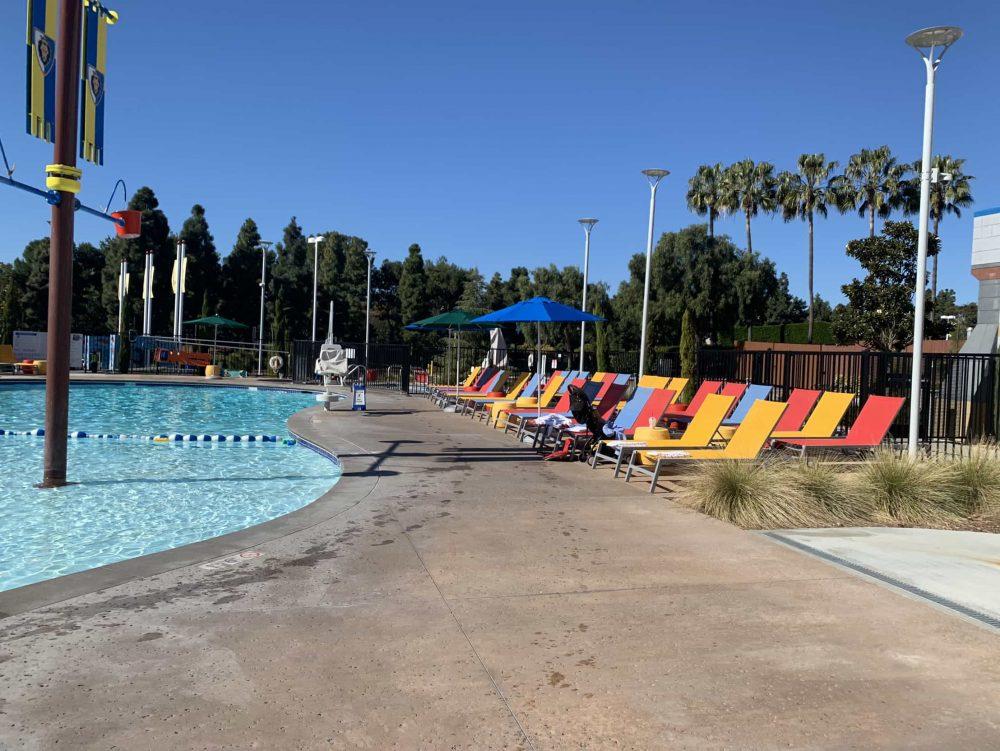 LEGOLAND California Castle Hotel pool
