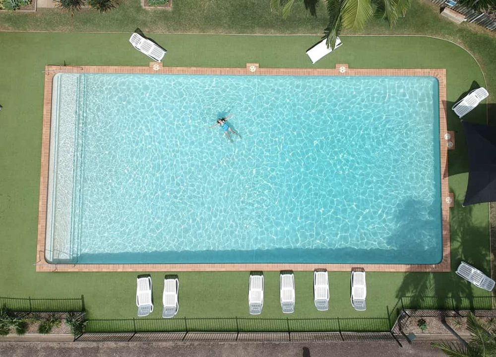 The Port Macquarie Holiday Park swimming pool