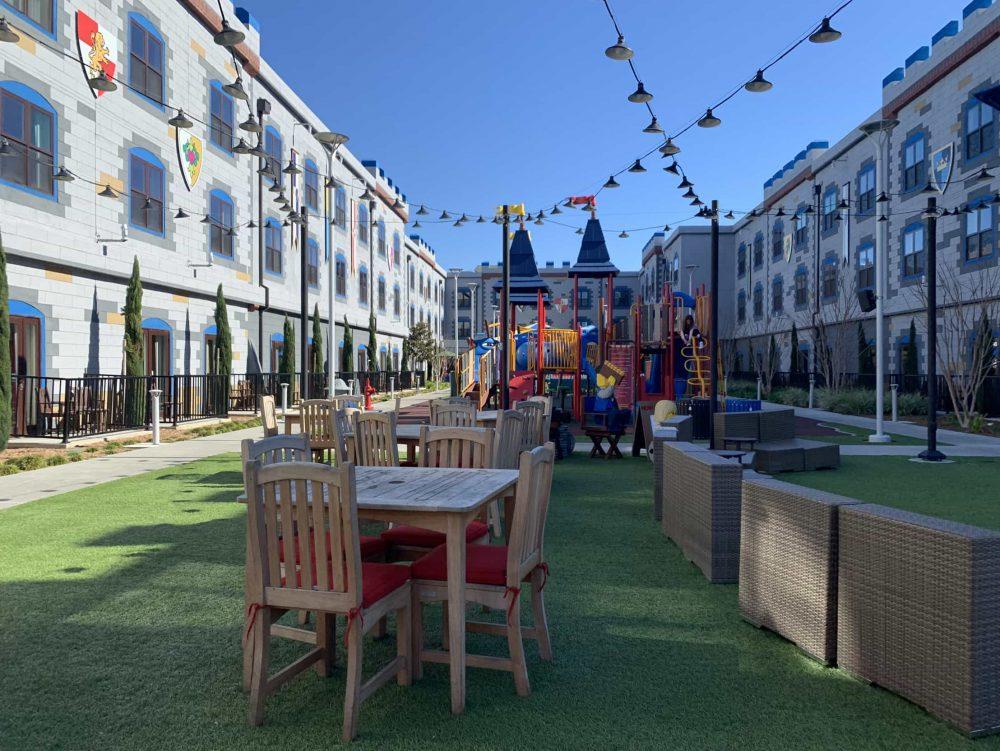 LEGOLAND California Courtyard and playground