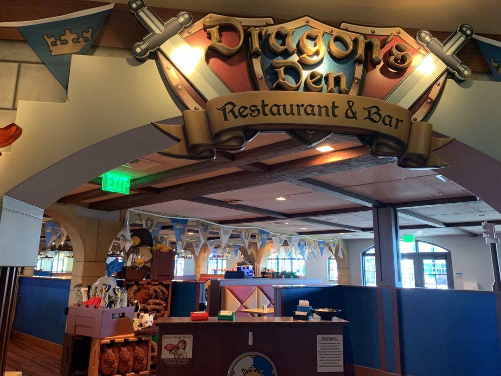 LEGOLAND California Dragons Den Restaurant