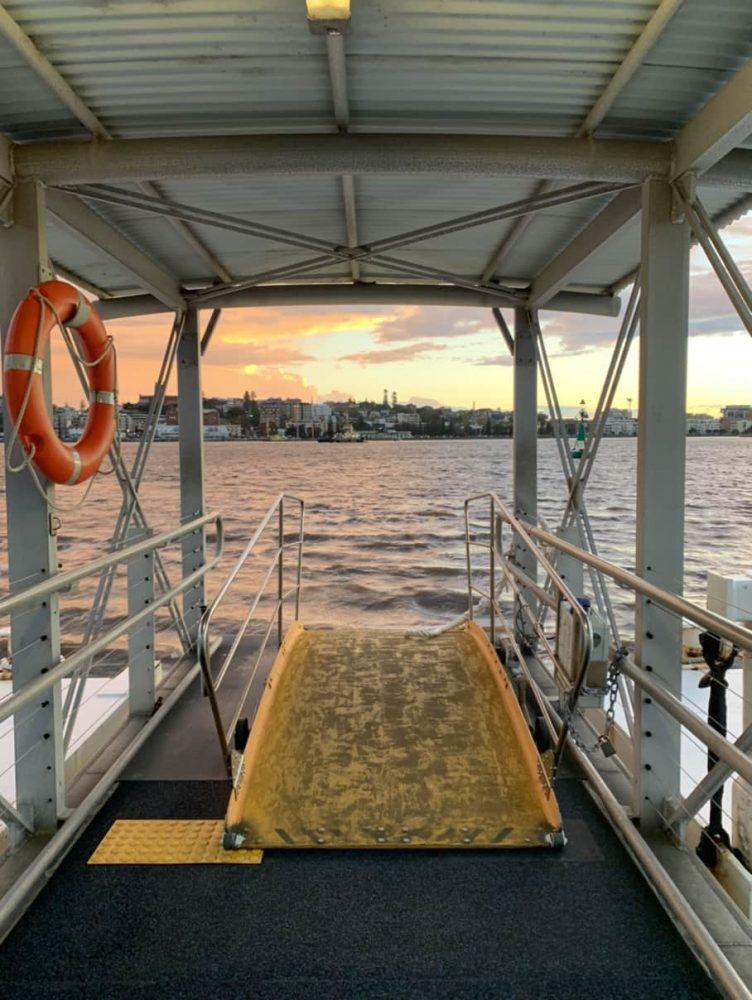 NRMA Stockton Beach Holiday Park - Stockton ferry wharf
