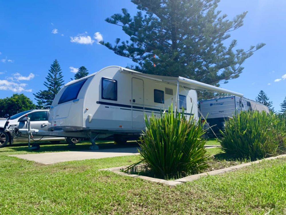Our luxurious caravan ensuite site