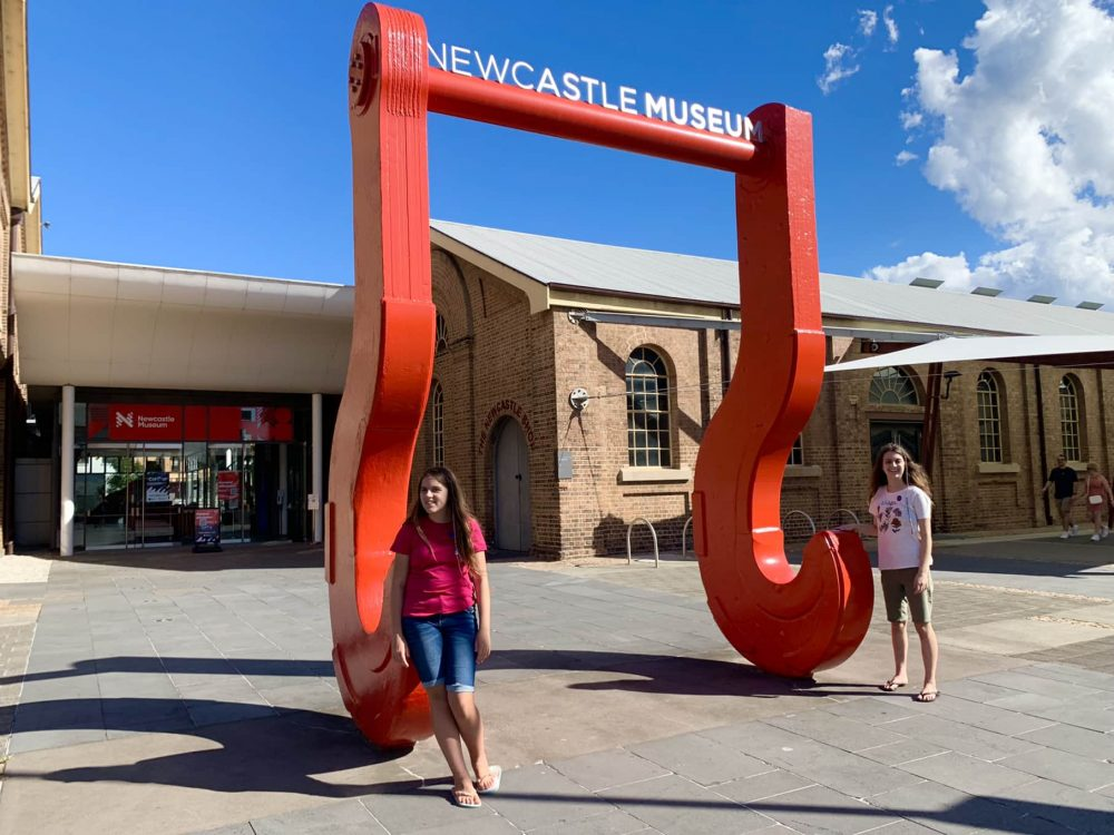 Newcastle Museum is just a ferry ride away!