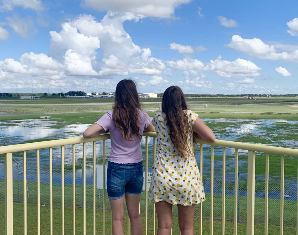 We loved watching the RAAF jets from the viewing platform