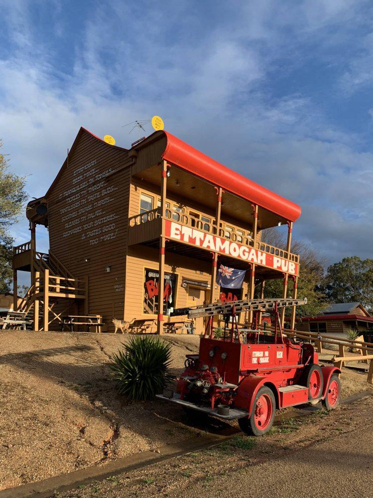 The Ettamogah Pub at Table Top, NSW